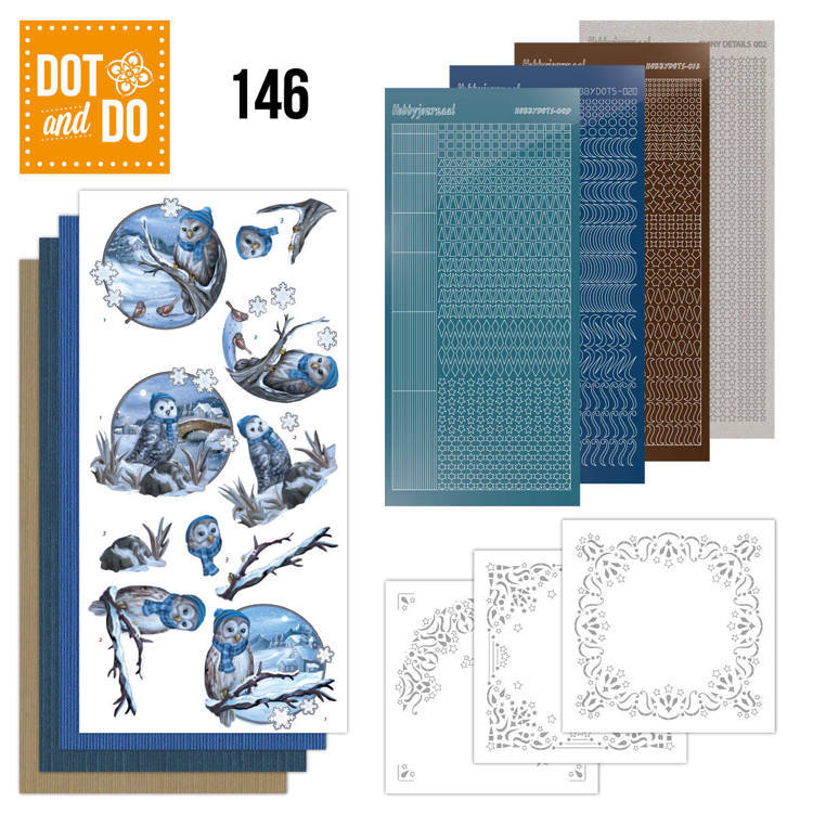 DODO146 Dot & Do 146 Winter Owls