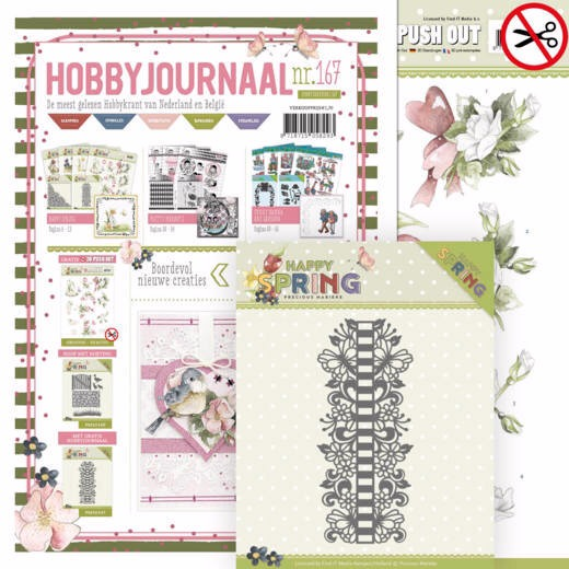 SETHJ167 - Hobbyjournaal 167 + PM10147 Happy Borders (#hJ167)