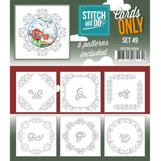 COSTDO10049 Cards only Stitch 49