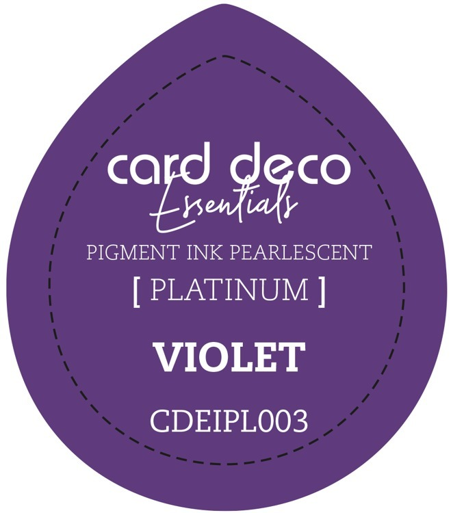 CDEIPL003 Card Deco Essentials Fast-Drying Pigment Ink Pearlescent Violet
