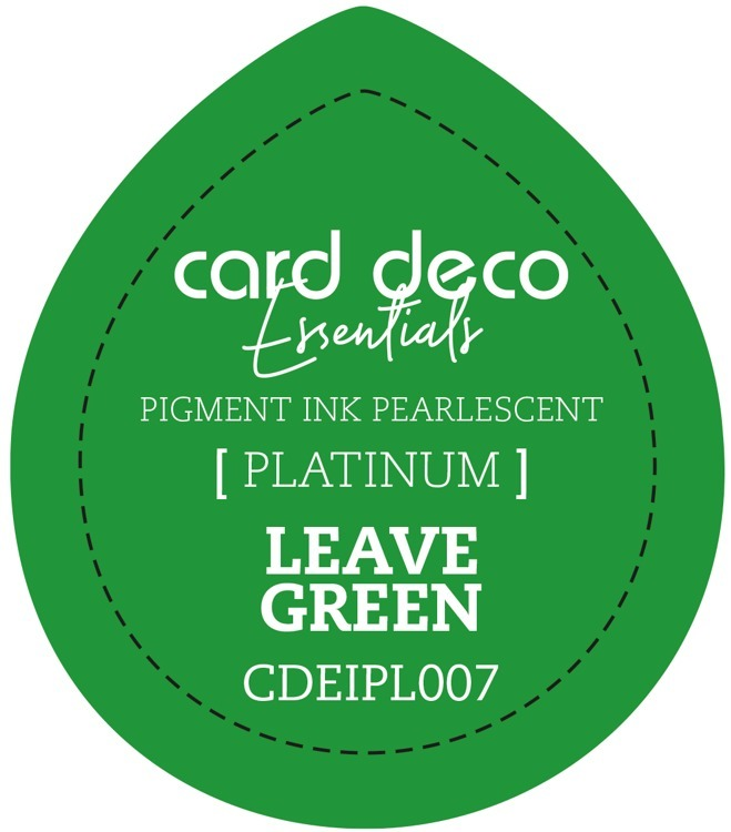CDEIPL007 Card Deco Essentials Fast-Drying Pigment Ink Pearlescent Leave Green