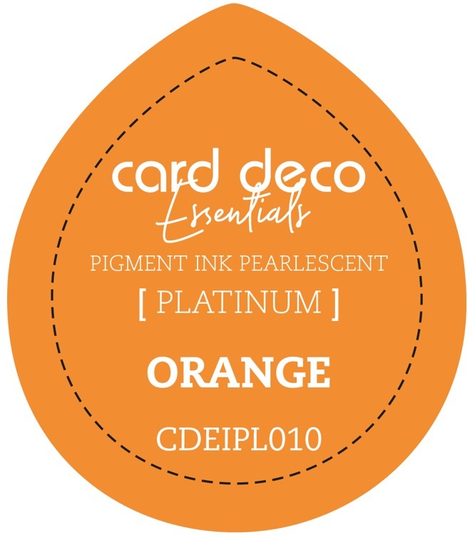 CDEIPL010 Card Deco Essentials Fast-Drying Pigment Ink Pearlescent Orange