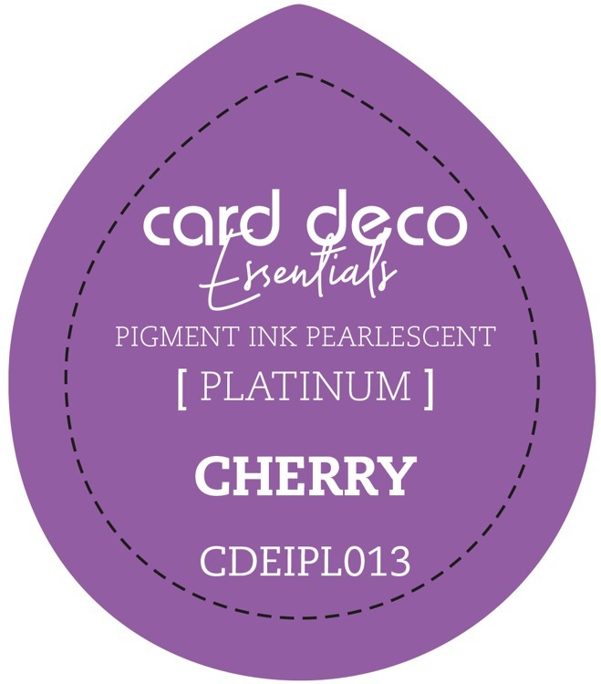 CDEIPL013 Card Deco Essentials Fast-Drying Pigment Ink Pearlescent Cherry