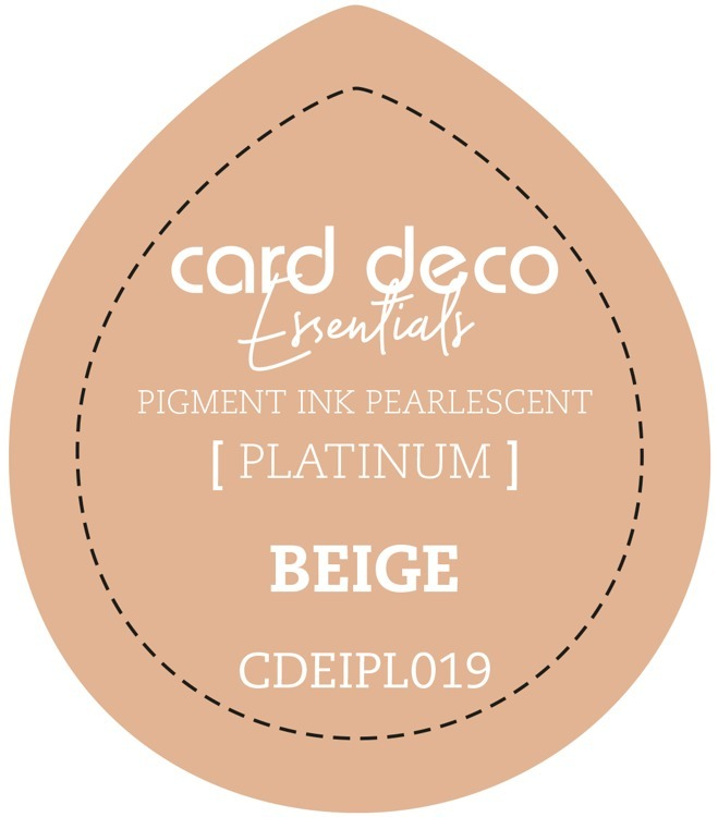CDEIPL019 Card Deco Essentials Fast-Drying Pigment Ink Pearlescent Beige