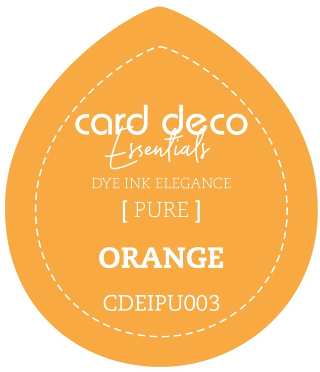 CDEIPU003 Card Deco Essentials Fade-Resistant Dye Ink Orange