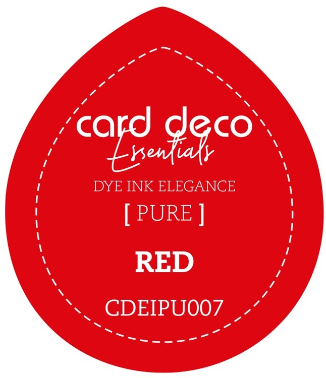 CDEIPU007 Card Deco Essentials Fade-Resistant Dye Ink Red