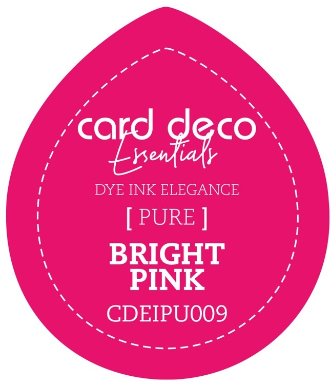 CDEIPU009 Card Deco Essentials Fade-Resistant Dye Ink Bright Pink