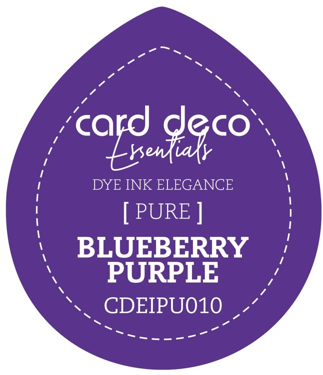 CDEIPU010 Card Deco Essentials Fade-Resistant Dye Ink Blueberry Purple