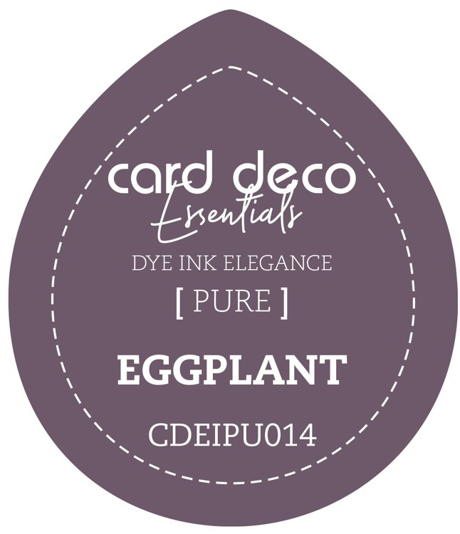 CDEIPU014 Card Deco Essentials Fade-Resistant Dye Ink Eggplant