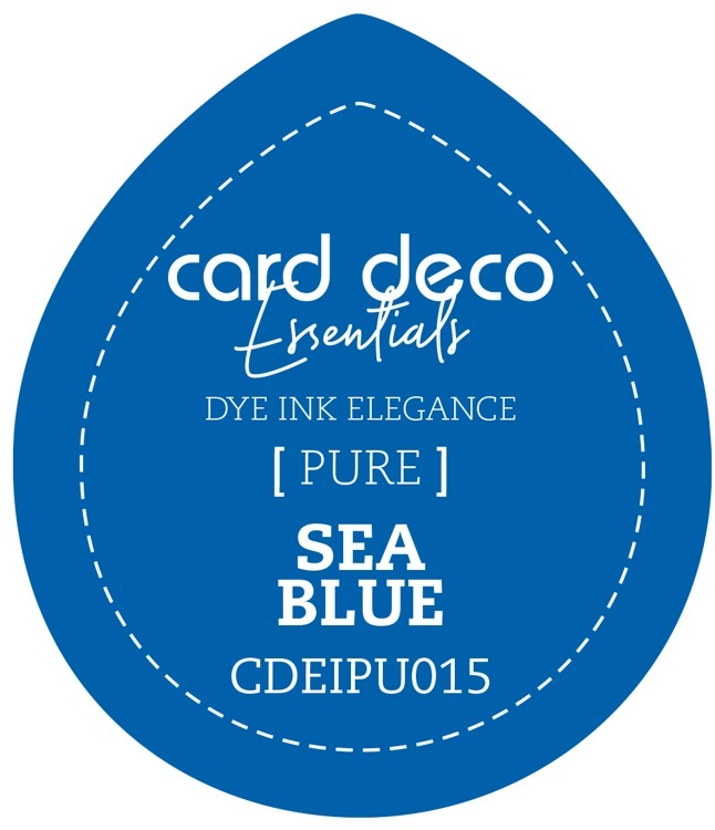 CDEIPU015 Card Deco Essentials Fade-Resistant Dye Ink Sea Blue