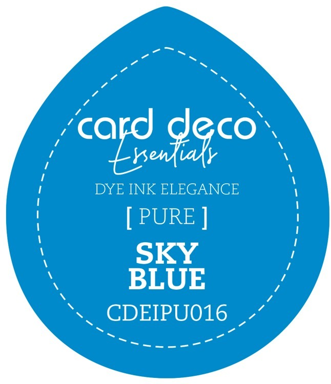 CDEIPU016 Card Deco Essentials Fade-Resistant Dye Ink Sky Blue