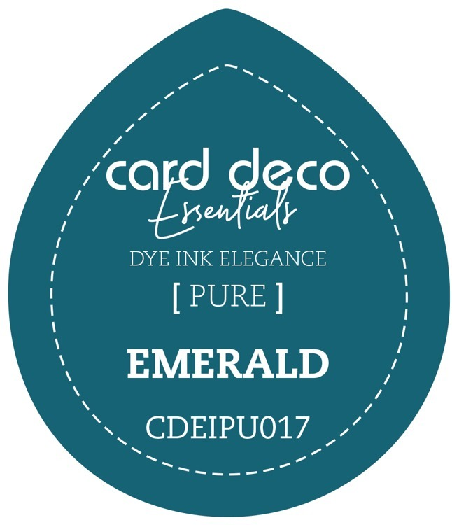 CDEIPU017 Card Deco Essentials Fade-Resistant Dye Ink Emerald