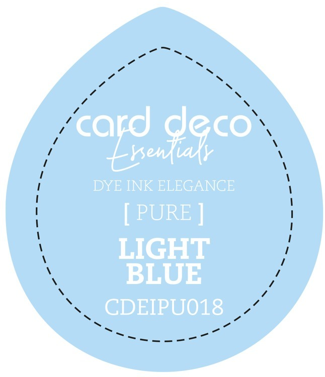 CDEIPU018 Card Deco Essentials Fade-Resistant Dye Ink Light Blue
