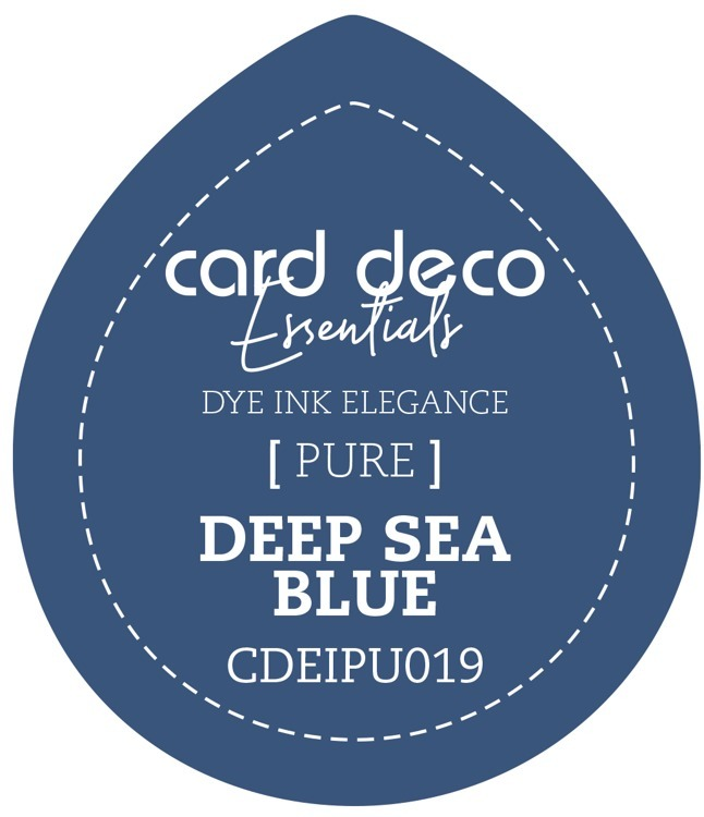 CDEIPU019 Card Deco Essentials Fade-Resistant Dye Ink Deep Sea Blue