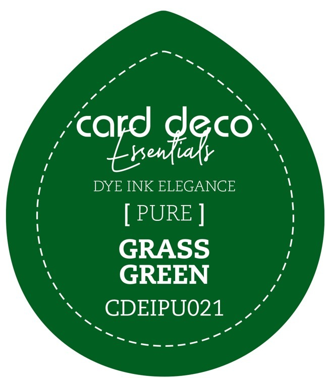CDEIPU021 Card Deco Essentials Fade-Resistant Dye Ink Grass Green