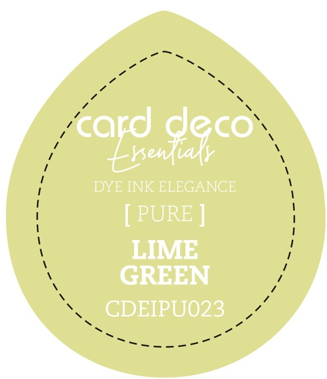 CDEIPU023 Card Deco Essentials Fade-Resistant Dye Ink Lime Green