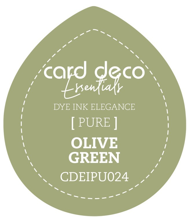 CDEIPU024 Card Deco Essentials Fade-Resistant Dye Ink Olive Green
