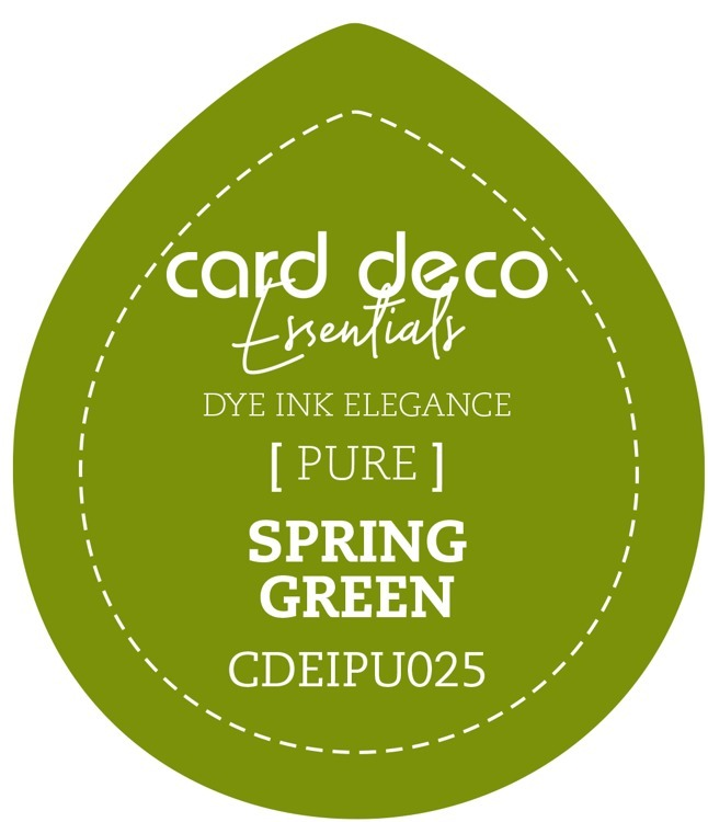 CDEIPU025 Card Deco Essentials Fade-Resistant Dye Ink Spring Green