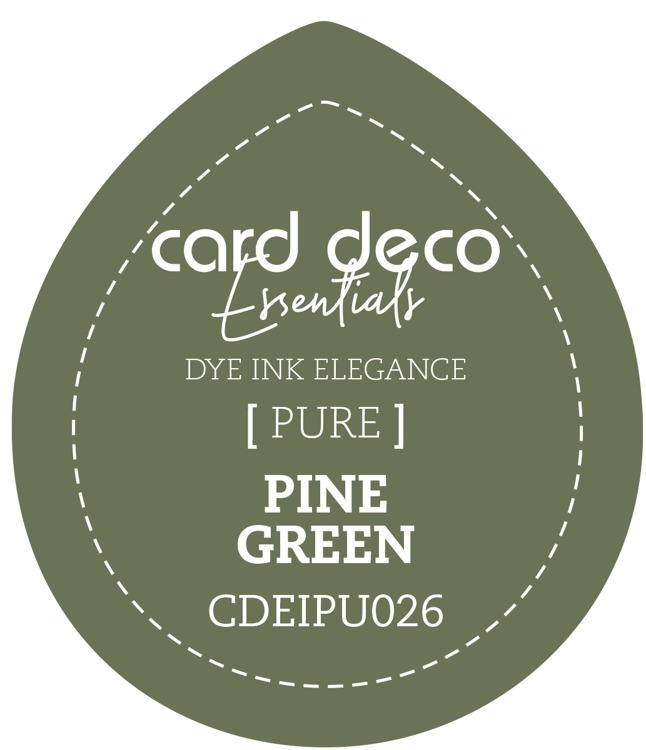 CDEIPU026 Card Deco Essentials Fade-Resistant Dye Ink Pine Green