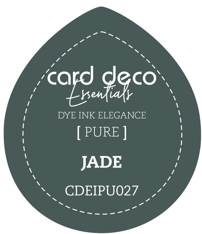 CDEIPU027 Card Deco Essentials Fade-Resistant Dye Ink Jade