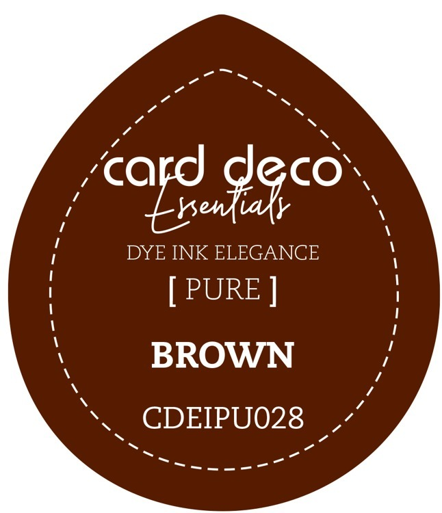 CDEIPU028 Card Deco Essentials Fade-Resistant Dye Ink Brown