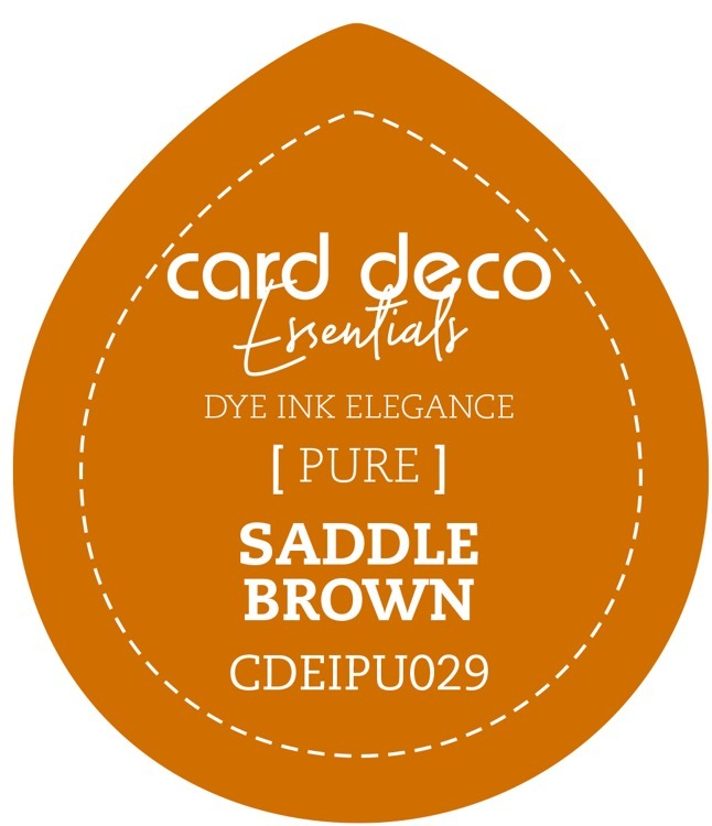 CDEIPU029 Card Deco Essentials Fade-Resistant Dye Ink Saddle Brown