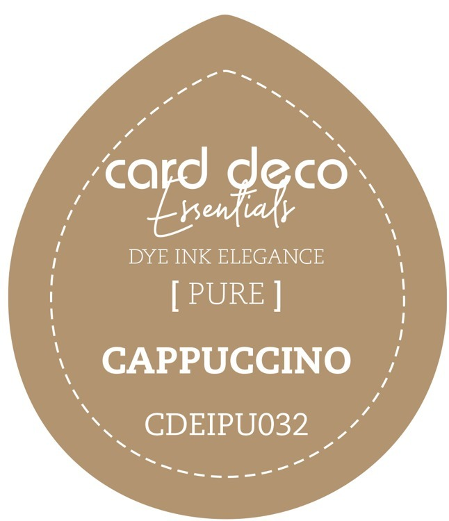 CDEIPU032 Card Deco Essentials Fade-Resistant Dye Ink Cappuccino