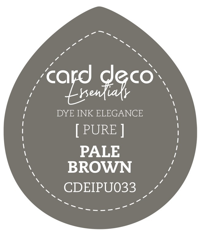 CDEIPU033 Card Deco Essentials Fade-Resistant Dye Ink Pale Brown