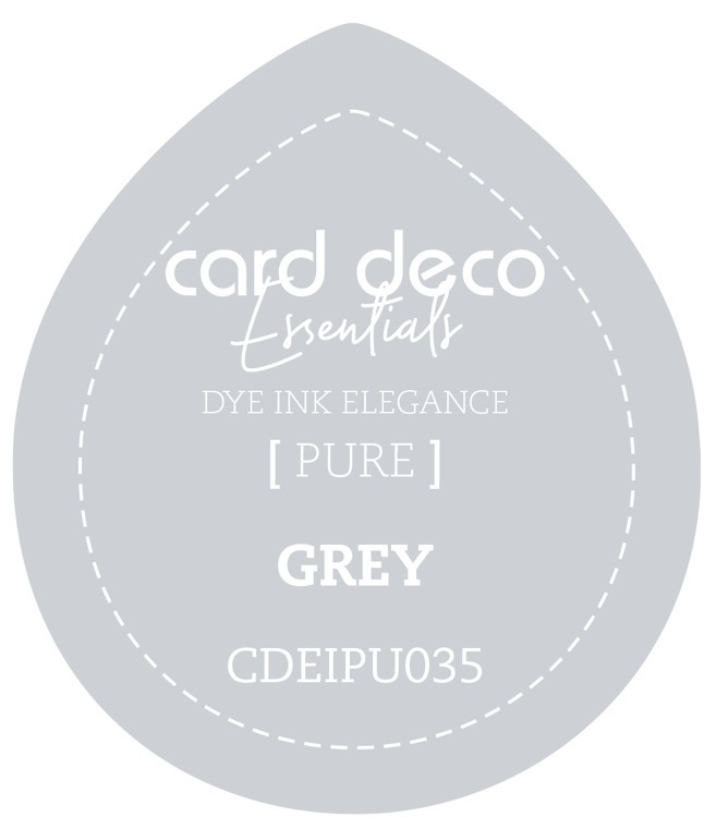 CDEIPU035 Card Deco Essentials Fade-Resistant Dye Ink Grey