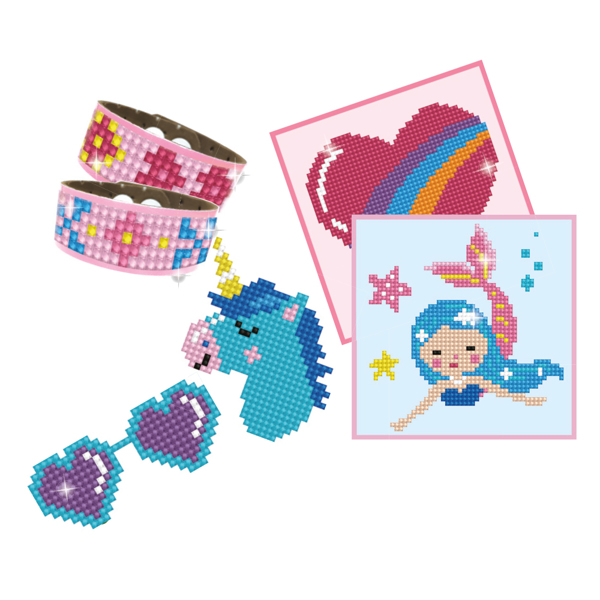 DTZ10.001 Diamond Dotz® - DOTZIES GIRL VARIETY KIT 6 projects- PINK