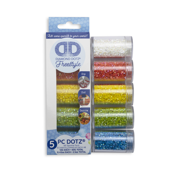 DDA.013 DIAMOND DOTZ® - SAMPLER PACK AB (5001. 5003. 5005. 5006. 5008)