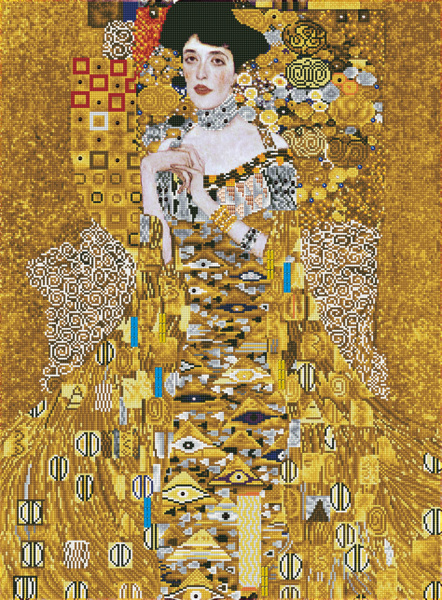 DD15.017 Diamond Dotz® - 67x91cm - Woman in Gold(#EU01)
