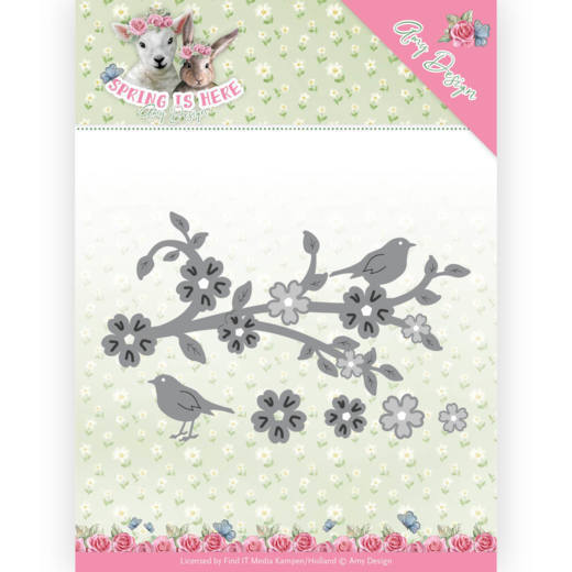 ADD10171 Dies - Amy Design - Spring is Here - Blossom Branch(#HJ168)