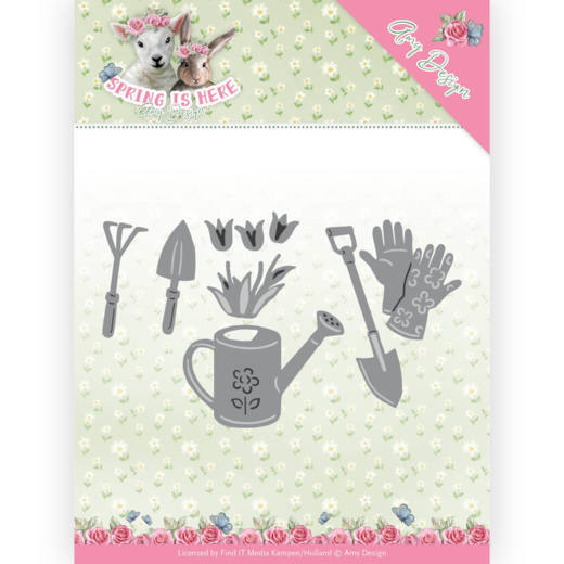 ADD10170 Dies - Amy Design - Spring is Here - Garden Tools(#HJ168)