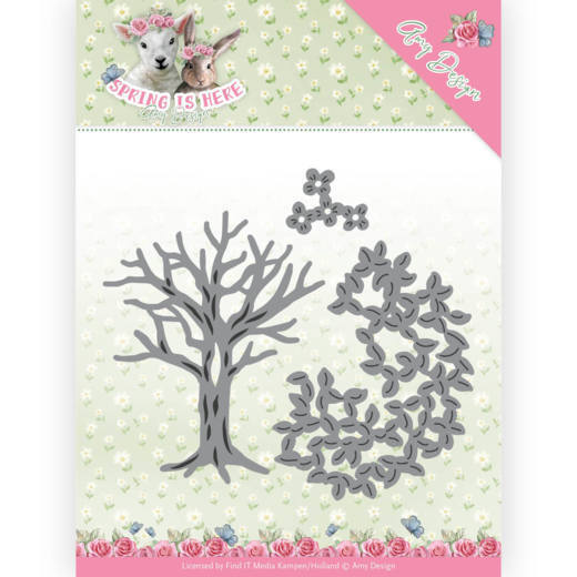 ADD10168 Dies - Amy Design - Spring is Here - Spring Tree(#HJ168)