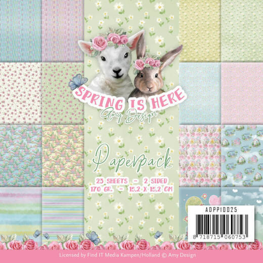 ADPP10025 Paperpack - Amy Design - Spring is Here(#HJ168)
