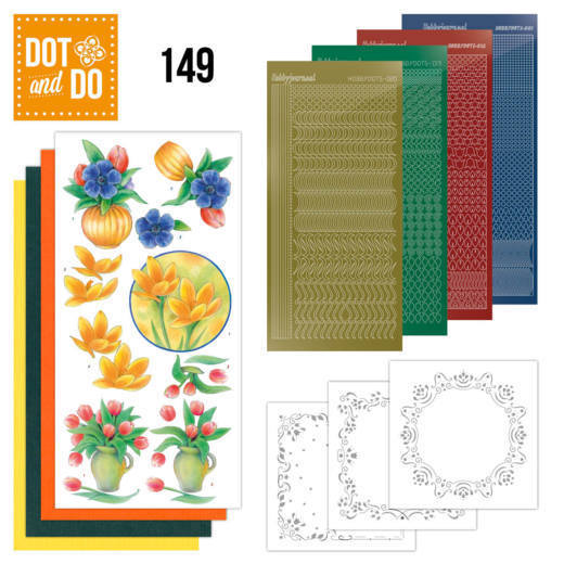 DODO149 Dot and Do 149 Bouquet of flowers