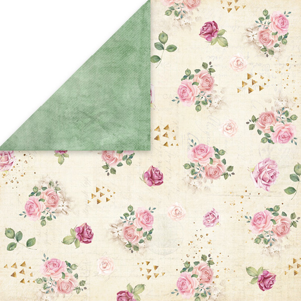 Cp Fv04 Flower Vibes Scrapbooking Single Paper 12x12 200gsm Time4hobby