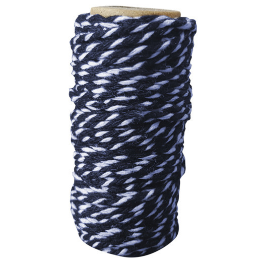 CDEBT003 Card Deco Essentials - Bakers Twine blue/white