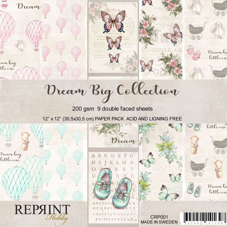CRP001 Collection Dream Big 9 sheets