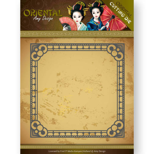 ADD10165 Dies - Amy Design - Oriental - Square Frame