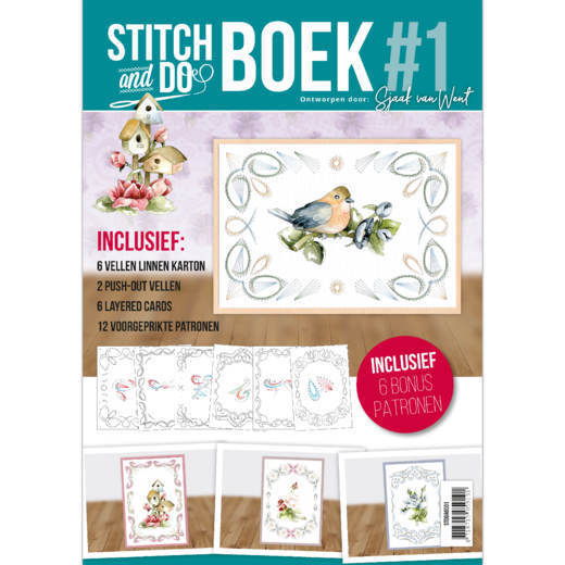 STDOBB001 Stitch and Do A6 Boek 1