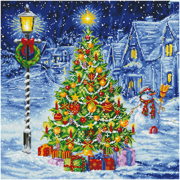 DD15.016 DIAMOND DOTZ® - 87x37cm - Oh Christmas Tree