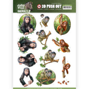 SB103493D Pushout - Amy Design - Wild Animals(#HJ170)