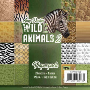 ADPP10026 Paperpack - Amy Design - Wild Animals 2(#HJ170)