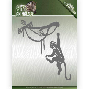 ADD10179 Dies - Amy Design - Wild Animals 2 - Spider Monkey(#HJ170)