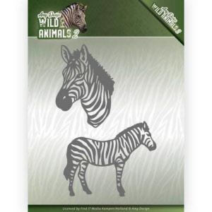 ADD10178 Dies - Amy Design - Wild Animals 2 - Zebra(#HJ170)