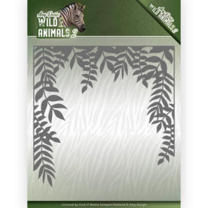 ADD10172 Dies - Amy Design - Wild Animals 2 - Jungle Frame(#HJ170)
