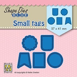 SDB078 Shape Dies BlueSmall tags