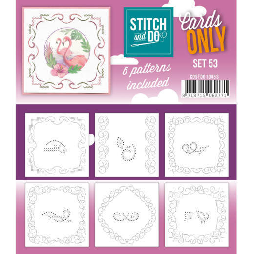 COSTDO10053 Cards only Stitch 53